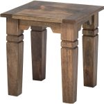 Traditional Mango End Table – Hamilton