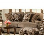 Traditional Mink Brown Loveseat – Prodigy
