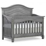 Traditional Storm Gray 5-in-1 Convertible Crib – Cheyenne