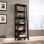 Trestle Jamocha 5-Shelf Bookcase