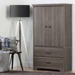 Two-Door Armoire with Drawers – Versa