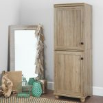 Two-Door Rustic Oak Storage Cabinet – Hopedale