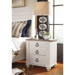 Two Drawer Night Stand – Willowton