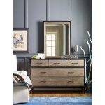 Two Tone Modern Industrial Dresser – #myroom