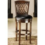 Vienna Tobacco 24 Inch Swivel Counter Stool