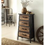 Vintage Industrial 4-Drawer Chest – Urban Loft