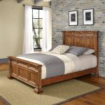 Vintage Natural King Size Bed – Americana