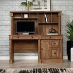 Vintage Oak Computer Desk – Vine Crest