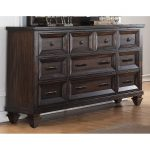 Walnut Brown Classic Traditional Dresser – Sevilla