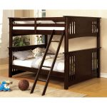 Walnut Full-over-Full Bunk Bed – Spring Creek
