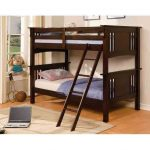Walnut Twin-over-Twin Bunk Bed – Spring Creek