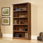 Washington Cherry 5-Shelf Bookcase