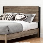 Weathered Oak Full/Queen Headboard – Munich