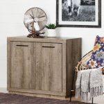 Weathered Oak Storage Cabinet – Kanji