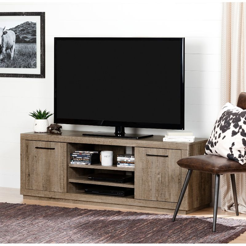 Weathered Oak Tv Stand For Tvs Up To 60 Inch Kanji Everything