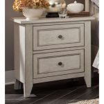 Weathered White Casual Traditional Nightstand – Raelynn