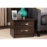 Wenge Dark Brown Nightstand