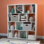 White 16-Cube Shelf Compartments – Reveal