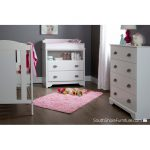 White 4-Drawer Chest – Fundy Tide