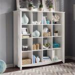 White 4×4 Bookcase – Aero