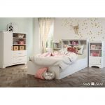 White Armoire with Drawers – Callesto