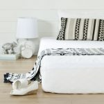 White Basic 8 Inch Twin Mattress with Mattress Cover – Somea