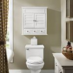 White Bathroom Wall Cabinet – Lydia