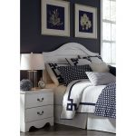 White Casual Classic Full/Queen Headboard – Taylor
