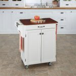 White/Cherry Cuisine Cart