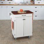 White/Cherry Cuisine Cart