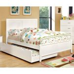 White Classic Full Size Bed – Prismo