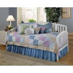 White Daybed with Pop-Up Trundle – Carolina