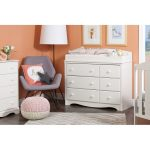 White Dresser & Changing Table – Angel