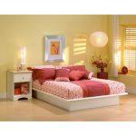 White Full Platform Bed – Step One