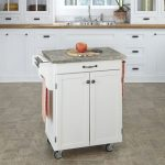 White/Gray Cuisine Cart
