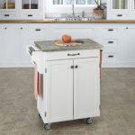 White/Gray Cuisine Cart