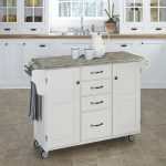White/Gray Kitchen Create-A-Cart