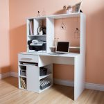 White Home Office Computer Desk – Annexe