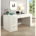 White Modern Office Desk – Catalina