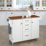White/Oak Create-A-Cart