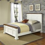 White Queen Size Bed – Americana