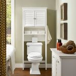 White Space Saver Bathroom Shelf – Lydia