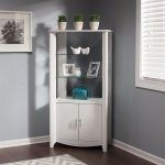 White Tall Library Storage – Aero