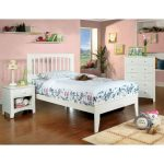 White Twin Platform Bed – Villa