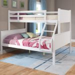 White Twin-over-Full Bunk Bed – Ashland