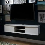 White Wall-Mounted Media Console (56 Inch) – Agora