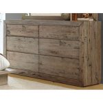 White-Washed Modern Rustic Dresser – Renewal