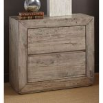 White-Washed Modern Rustic Nightstand – Renewal