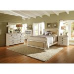 Willow White 6-Piece California King Bed Bedroom Set