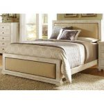 Willow White Upholstered California King Bed